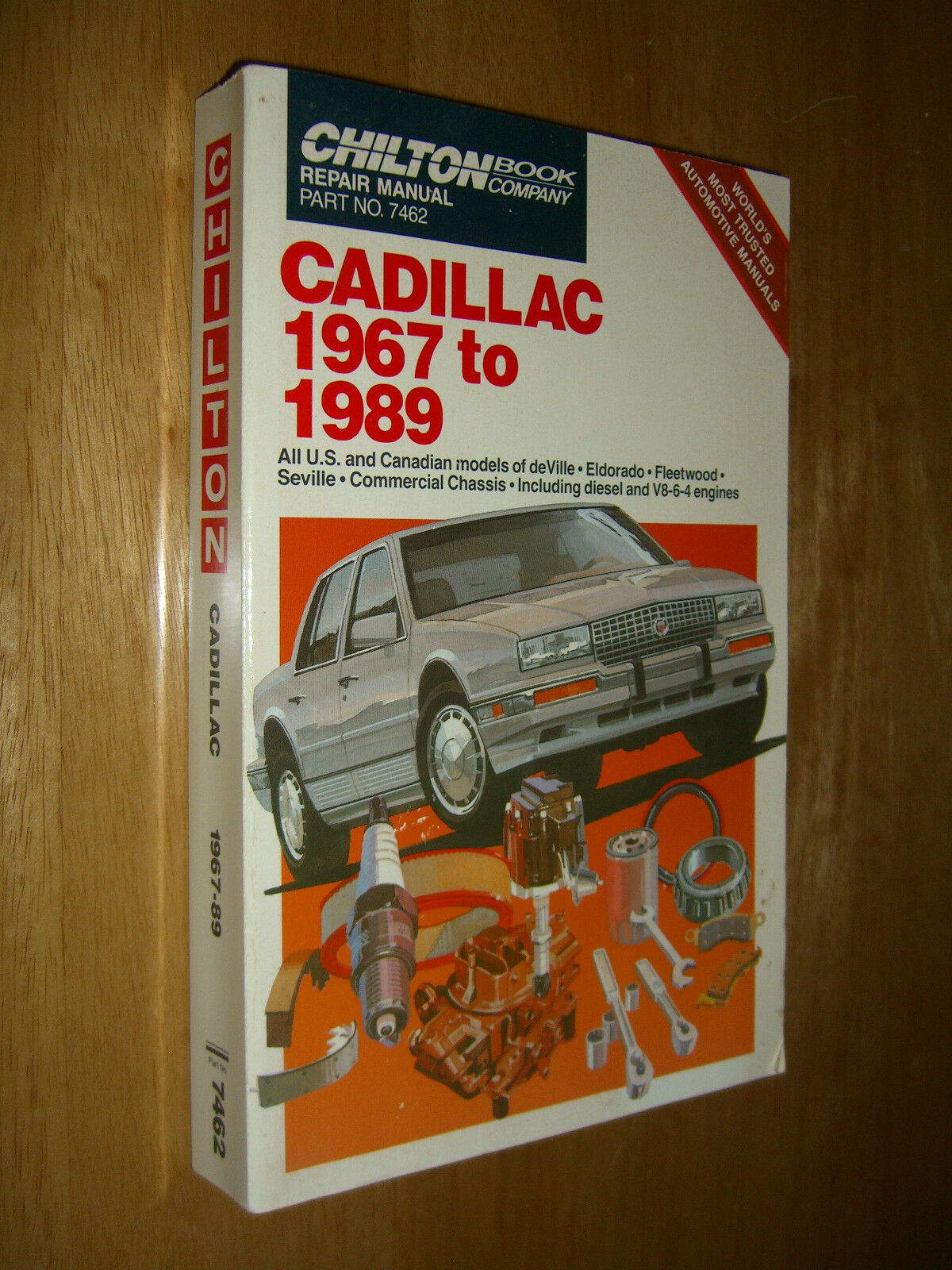 Chilton Model Specific Repair Manuals: Cadillac 1967-89 Repair and Tune-up  Guide by Chilton Automotive Editorial Staff (1989, Paperback) | eBay