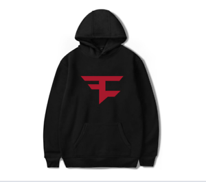 FaZe Clan Letter Printed Big Logo Men/'s Hoodie Sweatshirt Hooded Pullover
