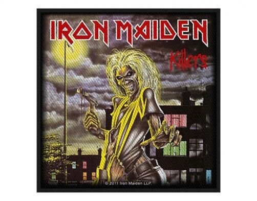 IRON MAIDEN killers 2011 - WOVEN SEW ON PATCH (sealed)
