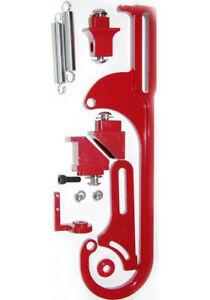 Holley 4150 4160 Carburetor Throttle Bracket Assembly Kit Powder Coated Red
