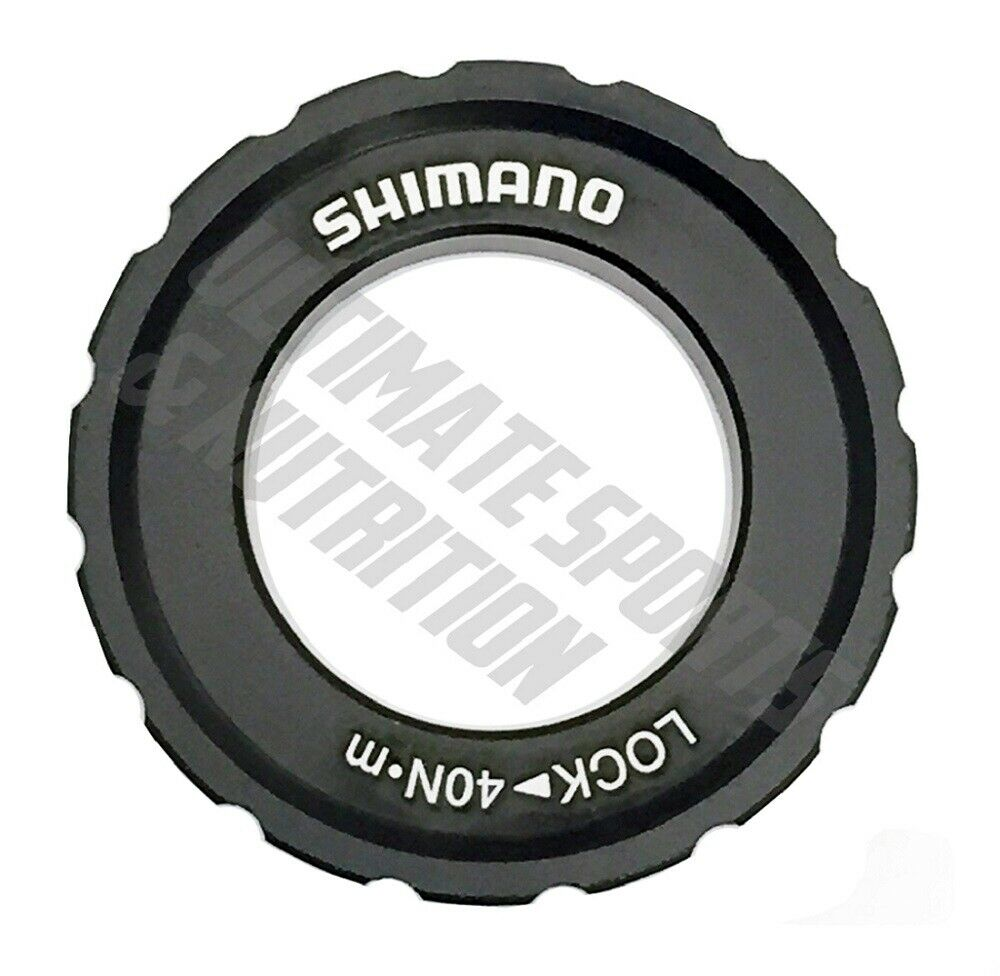 Shimano SM-HB20 12//15//20mm Axle Hub Centerlock Rotor Lockring New Version