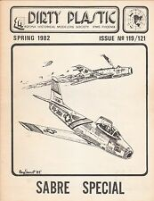 DIRTY PLASTIC MAGAZINE,FOR  MODEL AIRPLANE HOBBYISTS,ALL 4 1982 ISSUES