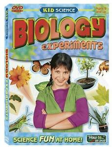 Kid Science Biology Experiments DVD    Perform amazing science experiments  New