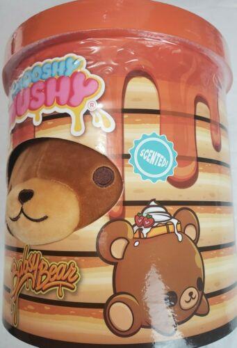 """Smooshy Mushy Jumbo Scented Squishy Pet 8/"""" Plush w// Bestie Sticker New kids 2+"""