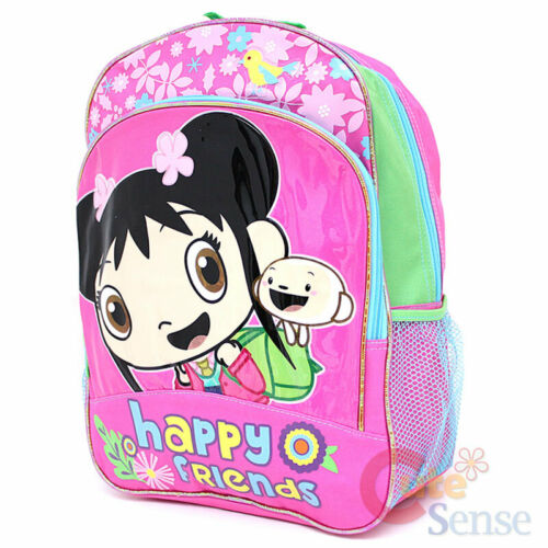 "Ni Hao Large Shcool Backpack 16/"" Girls Book Bag Happy Friends with HoHo"
