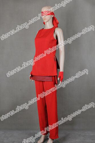 G I Joe 2 Retaliation Cosplay Kunoichi Jinx Costume Good Sell The Red Whole Set