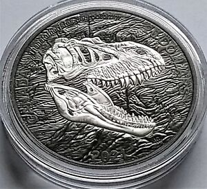 2021 Canada Discovering Dinosaurs Reaper of Death $20 1 oz ...