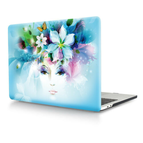 Flower Laptop Hard Case Cover For Macbook Air Pro Retina 11 12 13 15 Touch Bar