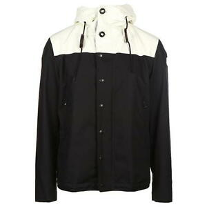Image is loading MONCLER-Beige-amp-Black-Leo-Jacket-Size-3-