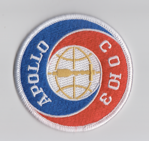 "NASA Apollo-Soyuz ASTP 3/""//75 mm dia. Soyuz-Apollo Patch Test Project"