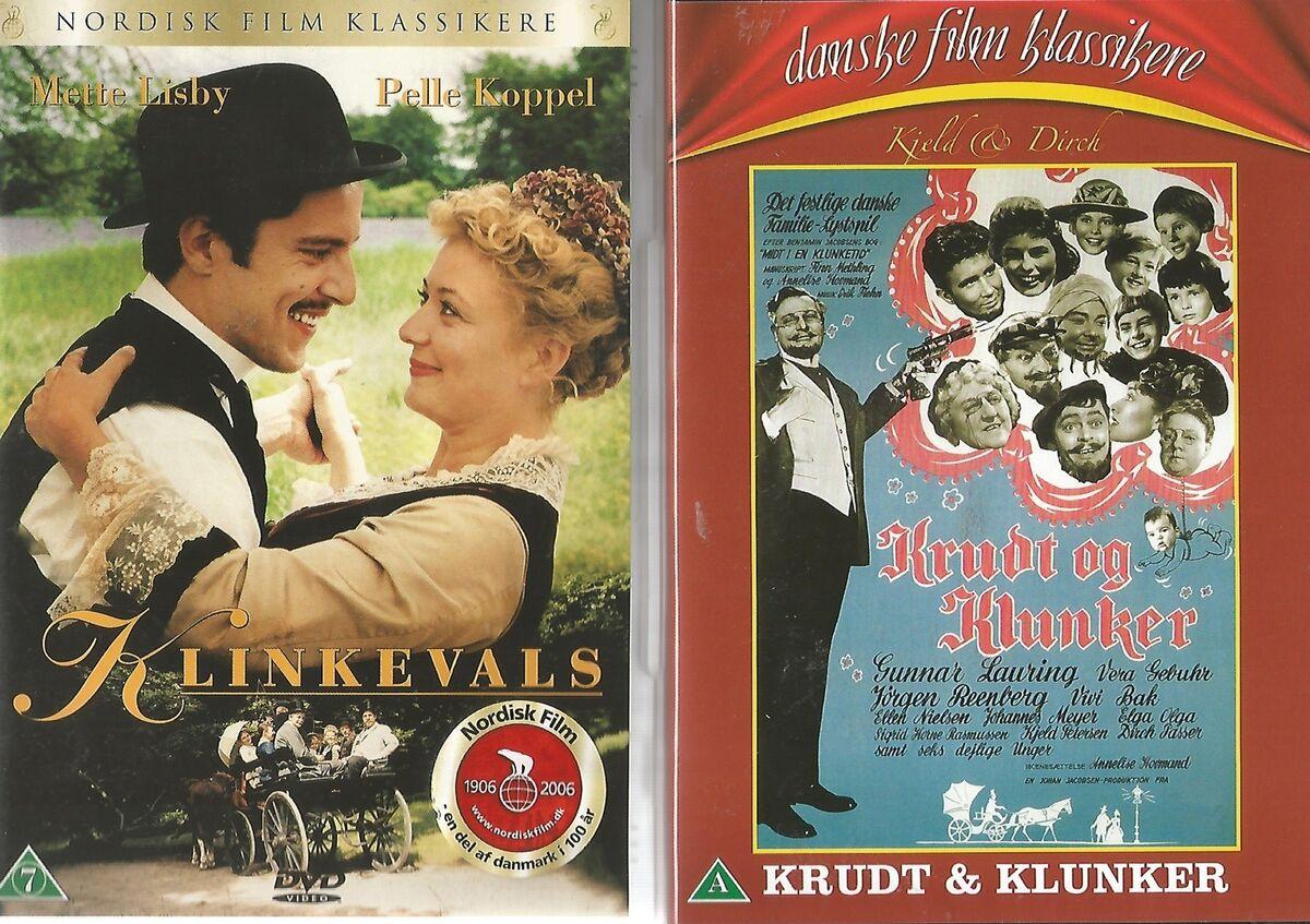 GAMLE DANSKE FILM 3, instruktør - dba.dk - Køb og Salg af