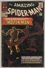 Amazing Spider-Man #28 September 1965 G Molten Man