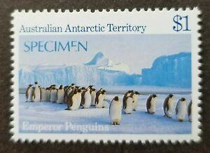 SJ-Australia-Antarctic-Territory-Penguin-1985-SPECIMEN-stamp-MNH-error-034-E-034