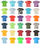 Tie-Dye-Tonal-T-Shirts-Adult-Sizes-S-5XL-Unisex-100-Cotton-Colortone-Gildan thumbnail 1