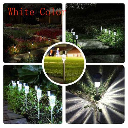 10//5X Solar Garden LED Lights Outdoor Waterproof Landscape Lawn Pathway LED Lamp