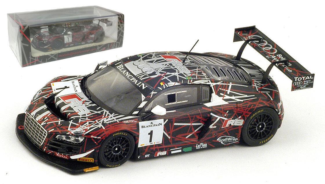 Spark sp071 Audi R8 LMS ultra gagnant gagnant gagnant BAKOU Azerbaïdjan défi mondial 2014 1 43 317629