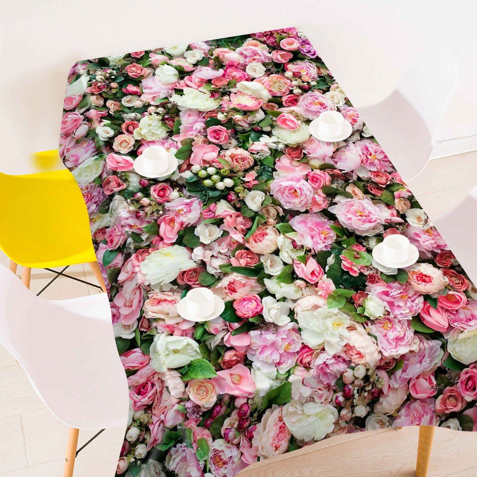 3D Flower Garden 106 Tablecloth Table Cover Cloth Birthday Party Event AJ Lemon
