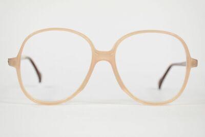 Atrio Vintage 176 55 [] 16 135 Beige-marrone Ovale Occhiali Montatura Nos-