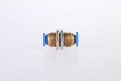 1 un 4 mm Aire Neumático Válvula Empuje en Accesorios Adaptador conjunta rápida