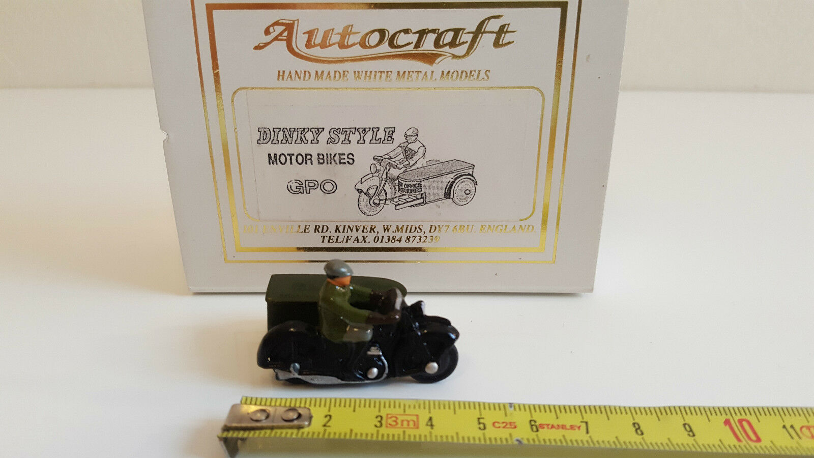 Autocraft  Reproduction Dinky giocattoli  Sideauto GPO Post Office Telephones