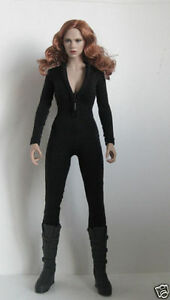 "1:6 Figure Clothing Female White Slim Tight Stretch Leotard F//12/"" Girl Body"