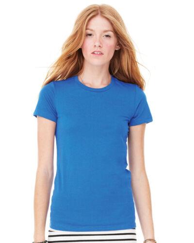 BELLA CANVAS BE076 Women/'s Short Sleeve Favourite T-Shirt Size S-XL