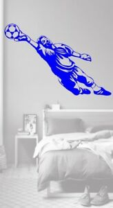 Football Goal Keeper Blue Childrens bedroom sports Vinyl Wall Decal Sticker - Clacton-on-Sea, Essex, United Kingdom - Football Goal Keeper Blue Childrens bedroom sports Vinyl Wall Decal Sticker - Clacton-on-Sea, Essex, United Kingdom