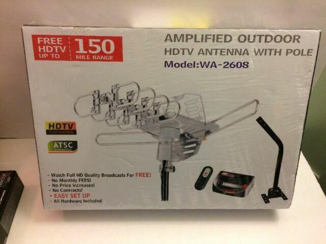NEW pingbingding WA2608 HDTV Antenna Amplified Digital Outdo