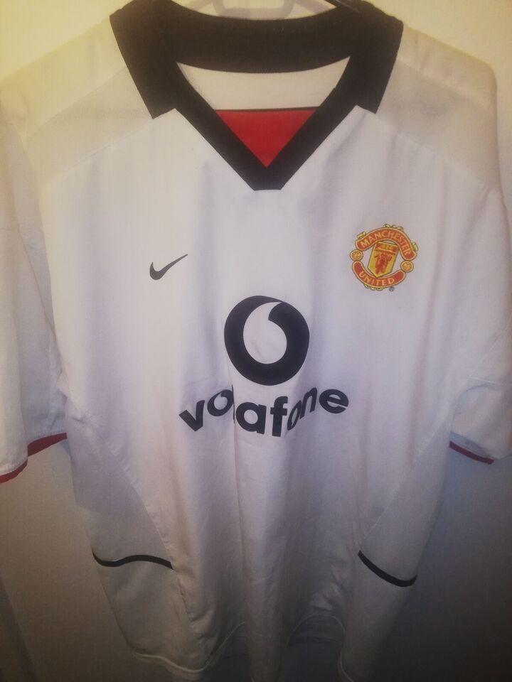 Fodboldtrøje, David Beckham manchester united trøje,