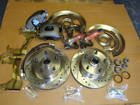 1967 1968 1969 Chevy Camaro Ss Rs Z28 Stock Height Disc Brake Cross Drill Rotors