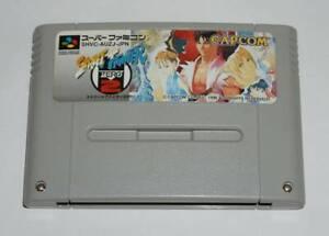 Street-Fighter-ZERO-2-CAPCOM-Nintendo-Super-Famicom-SFC-SNES-Japan-FedEx