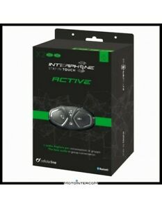 XBE Interphone ACTIVE twin pack