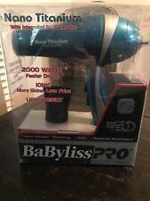 Babyliss Pro Nano Titanium Ionic Lightweight 2000 Watts Hair Dryer Blower