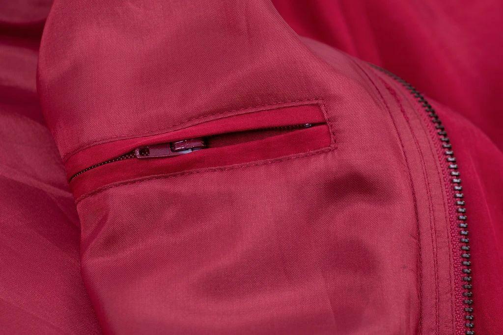 Paul & Shark Yachting Men's Red Silk Bomber Jacke… - image 12