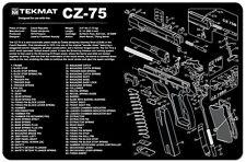 CZ 75 TekMat 11-Inch X 17-Inch Handgun Cleaning Mat