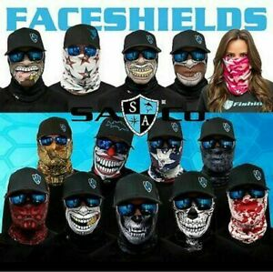 BLACK-OUT US American FLAG Salt Armour SA US Face Shield Sun Mask Balaclava Neck