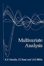 Probability and Mathematical Statistics: Multivariate Analysis by K. V. Mardia,…