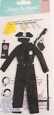 Police Officer Cop Night Stick Ticket Walkie Talkie Gun Jolee's 3D Stickers