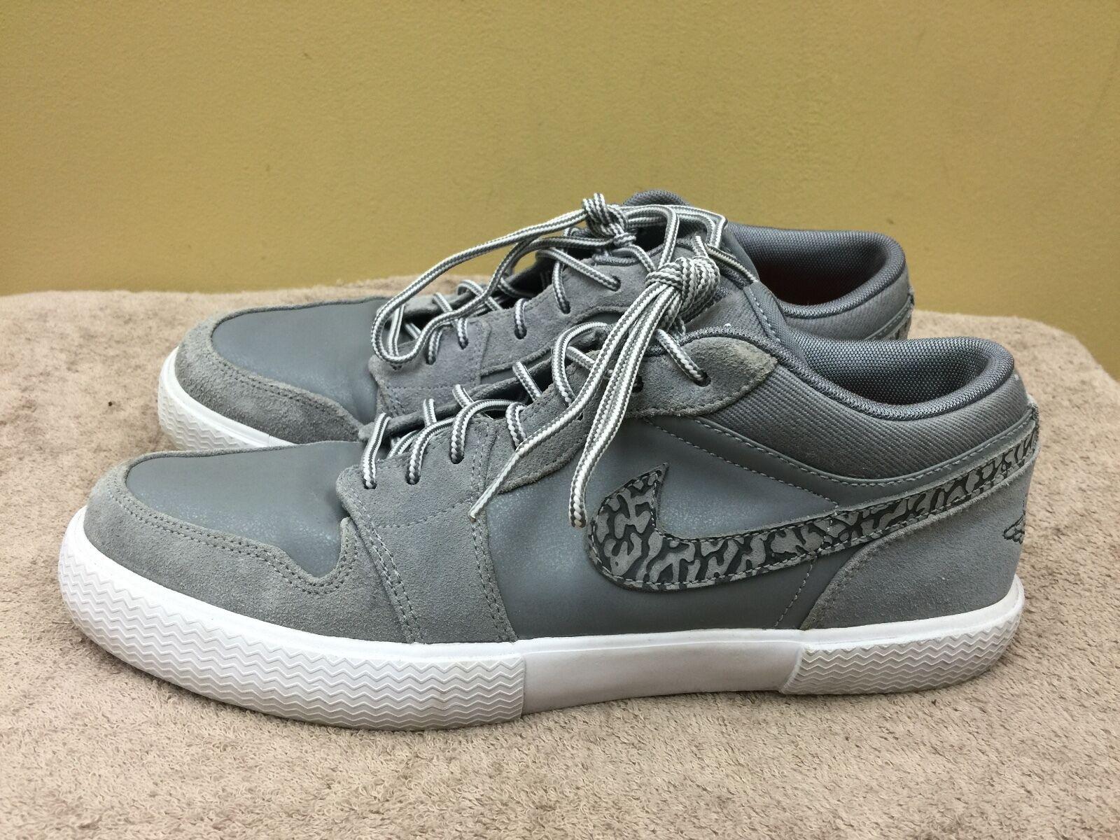 Nike Air Jordan Retro V.1 Cool Grey Anthracite White size 9.5  481177-010