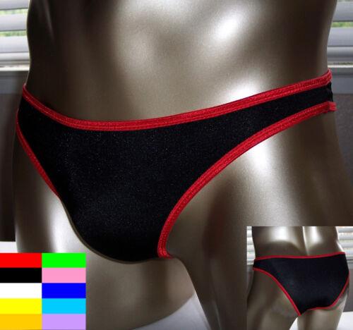 K327 HOT MEN BIKINI BRIEF Low Waist High-cut Legs Color
