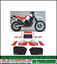kit adesivi stickers compatibili  elefant 650 1986