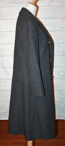 Grey Virgin 100 7 Pendleton Vtg Wool 8 Coat Sz qx7wEz4I