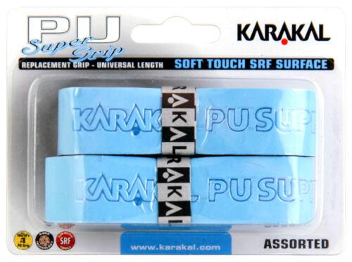 Tennis Karakal Super PU Replacement Grips Pack of 2 Badminton Squash