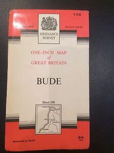 Ordnance-Survey-Map-Bude-Sheet-174-Vintage