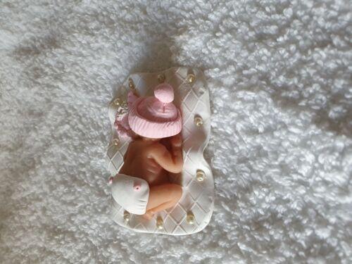Fait Main Argile cake topper décoration Baby Shower souvenir Non Comestible