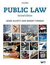 Public Law by Mark Elliott, Robert Thomas (Paperback, 2014)