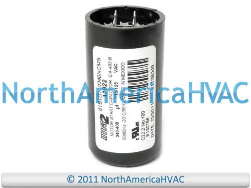 Motor Start Capacitor 340-408MFD 110-125VAC MARS2 11922