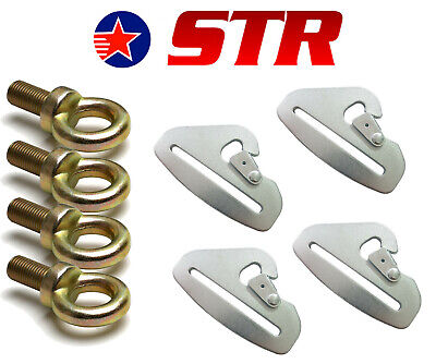 """3/"""" SNAP CLIPS PACK X5  ORCI SPEDEWORTH //AUTOGRASS//STOCKCAR 5 POINT  HARNESS"""