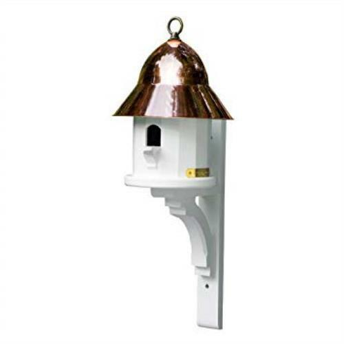 Copper Roof /& Bracket 42430 Lazy Hill Farm Copper Top Bird House Cellular Vinyl