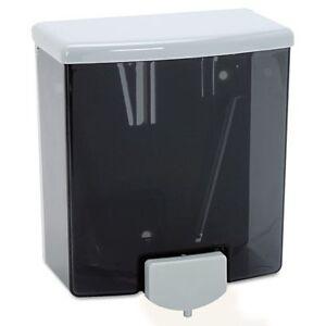 Bobrick 40 ClassicSeries Surface-Mounted Soap Dispenser, 40oz, Black/Gray